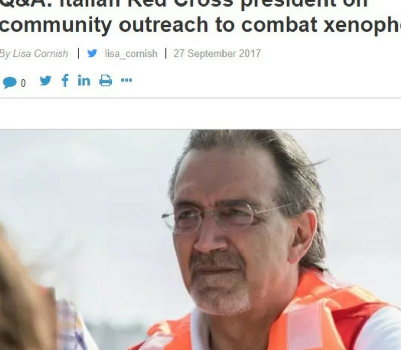 IL MONDO DI CR_MR_EMERGENZE_29_09_2017_Francesco Rocca intevistato da Devex su xenofobia