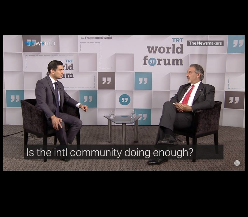 Francesco Rocca a TRT World Forum